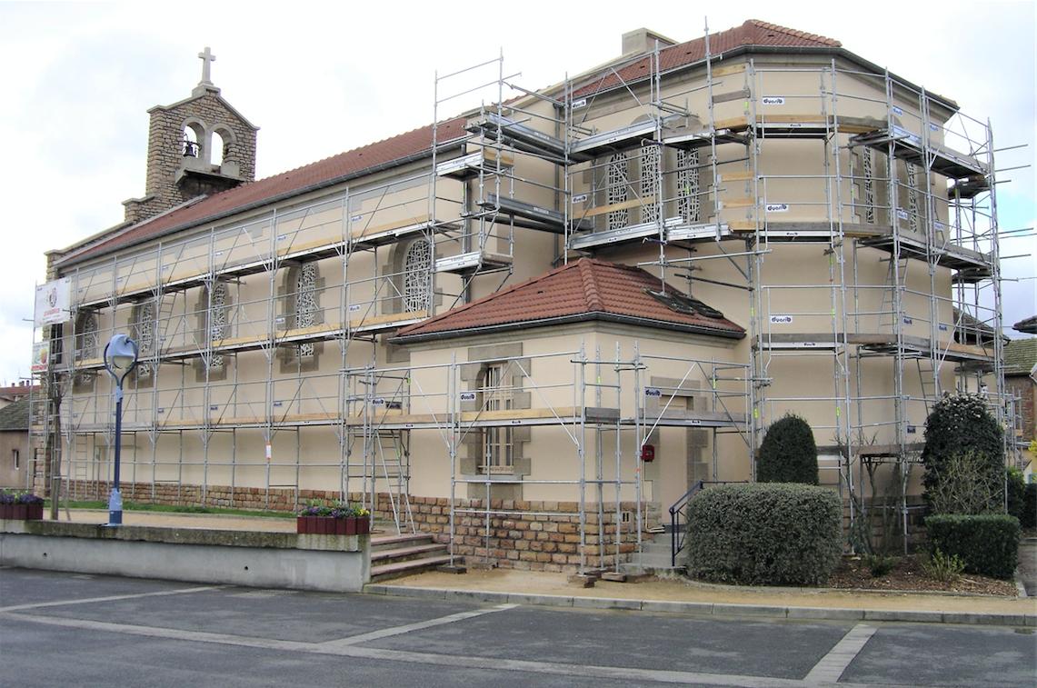 Rénovation façade Charnay